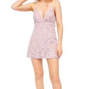NWT Free People Dangerous Love Lace Mini Dress 2